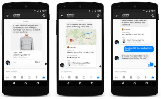 A termék vásárlása után Messengeren is érkezhet az értesítés, majd a reklamációt is Messengerben tudjuk lebonyolítani.