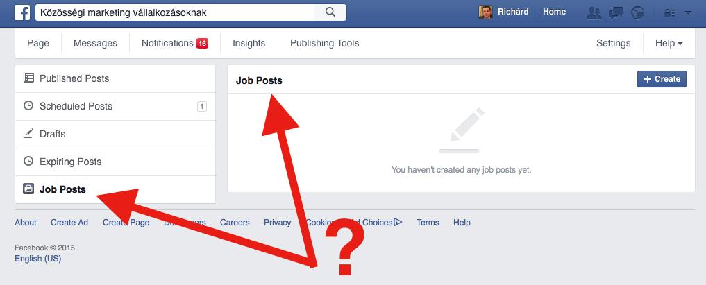 Állásajánlatok érkeznek a Facebookra?
