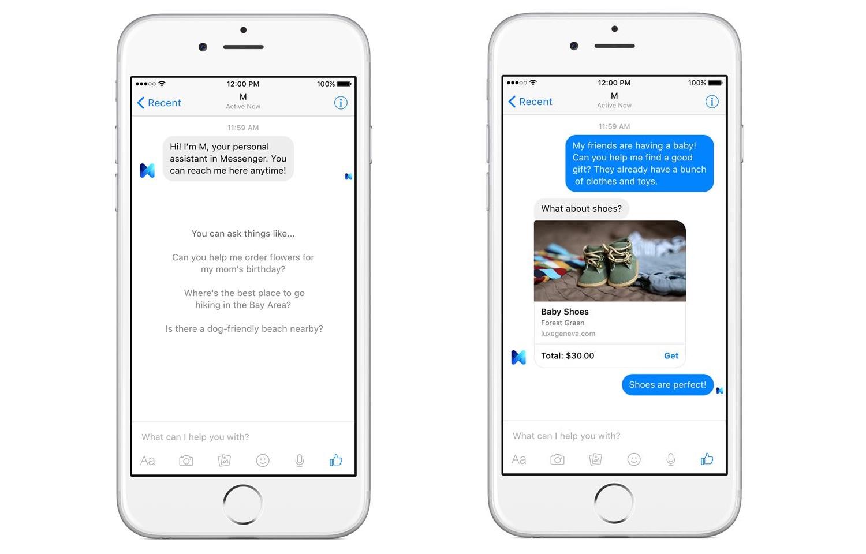 A Messengerben beszélgetéseken keresztül segít megoldani a problémáinkat M, a Facebook új digitális asszisztense
