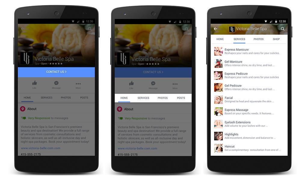 Kiemeltebb call-to-action plusz új funkciók a Facebook oldalaknál