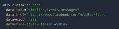 A Page pluginban kell beírni a data-tabs sort, amiben szabályozhatjuk, milyen füleket szeretnénk a weboldalunk page pluginjában látni.