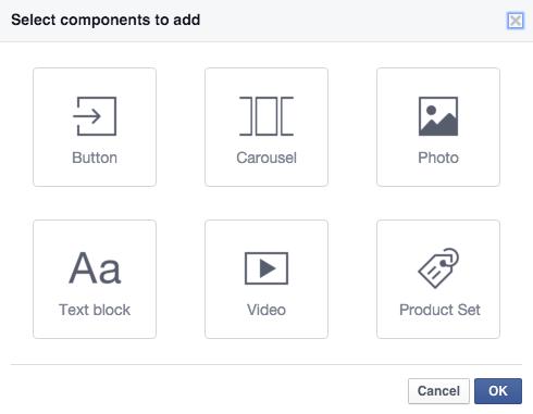 A fejléc kivételével mindegyik komponensből többet is használhatunk.