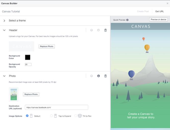 A Facebook egy segédletet is ad, hogy megértsük a formátum működését és át tudjuk nézni a lehetőségeket.