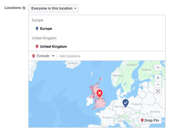 Persze ki is zárhatunk országokat a régiókon belül. Így nézni ki a Brexit földrajzi célzással. :-)