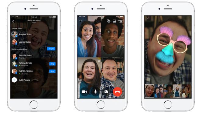 Videós beszélgetés a barátokkal: a Messengeren (is) lesz erre lehetőség hamarosan.