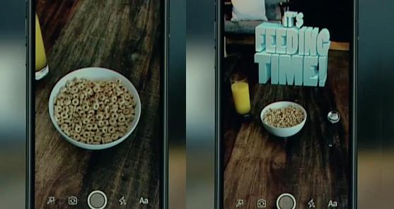 Az ételfotók új generációja: 3D-s betűkkel, ugráló cápákkal elevenednek meg a kajafotók a kiterjesztett valóságban. #mutimiteszel a következő szinten