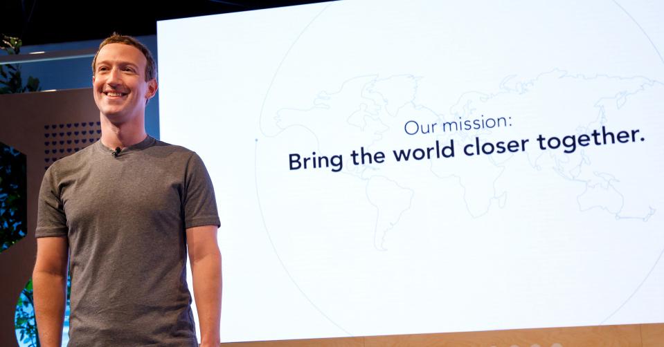 Zuckerberg és az új szlogen