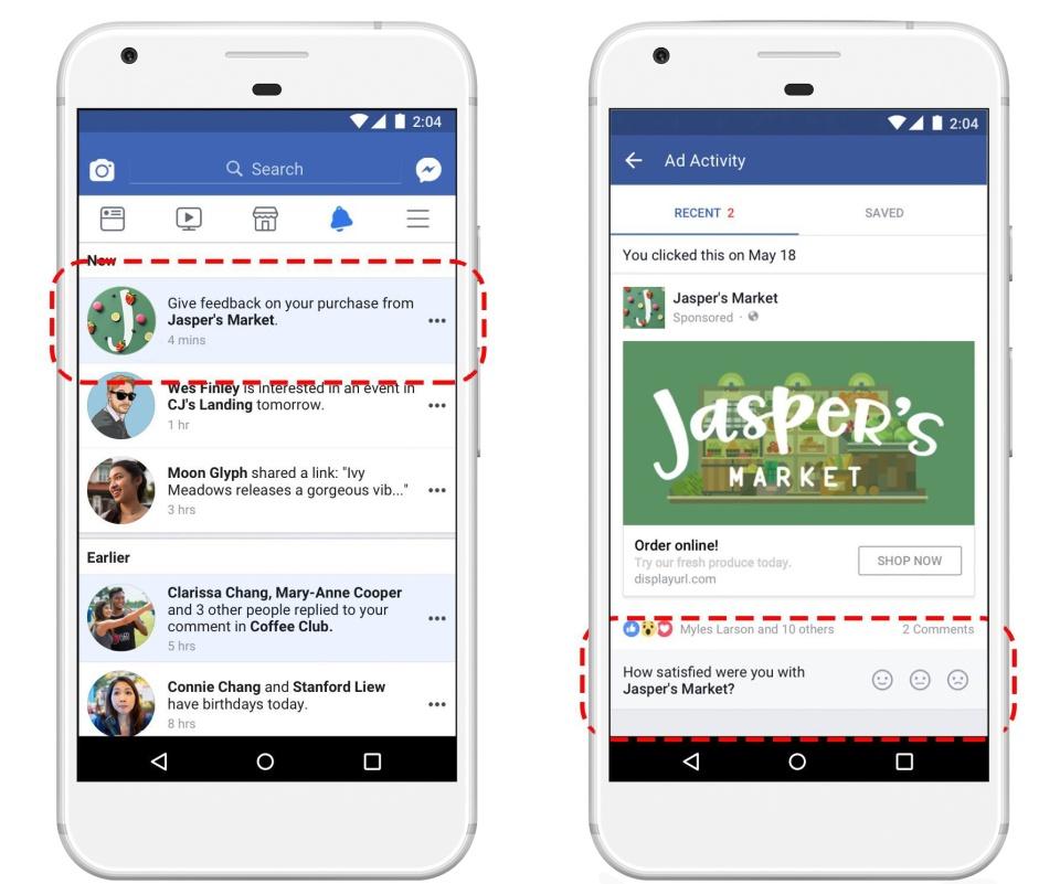 A Facebook aktívan fog viszajelzést kérni a hirdetőkről