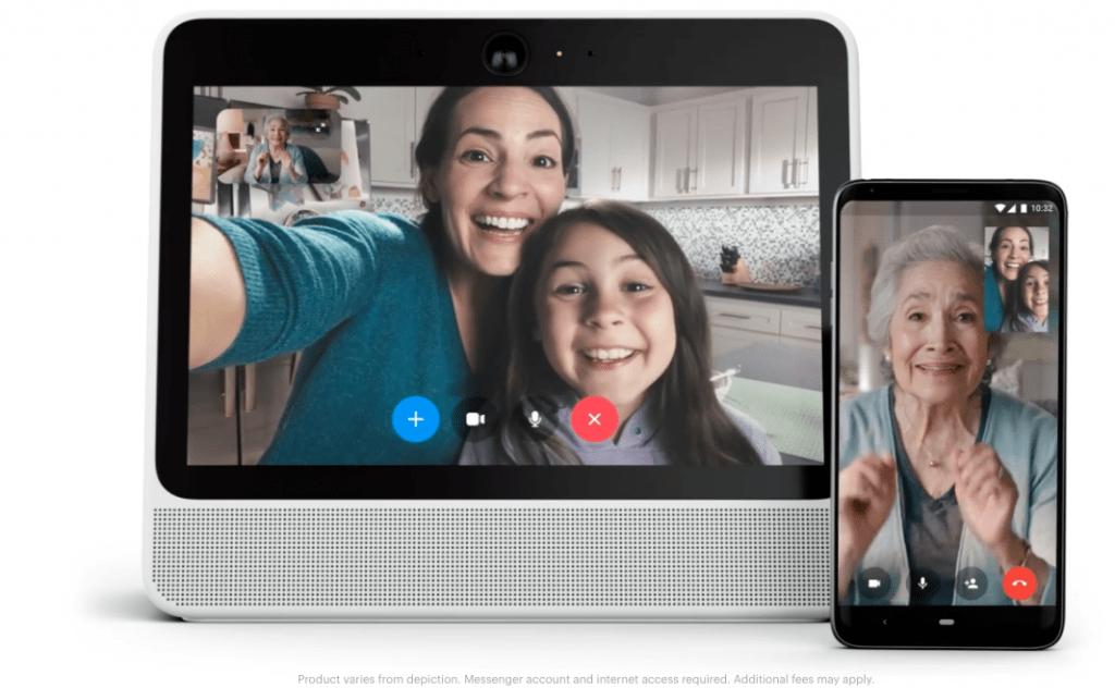 Facebook Portál és Messenger két jóbarát